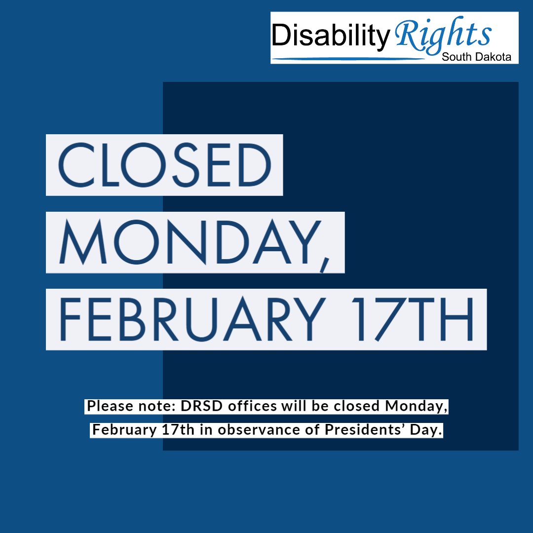DRSD Closed Monday February 17th